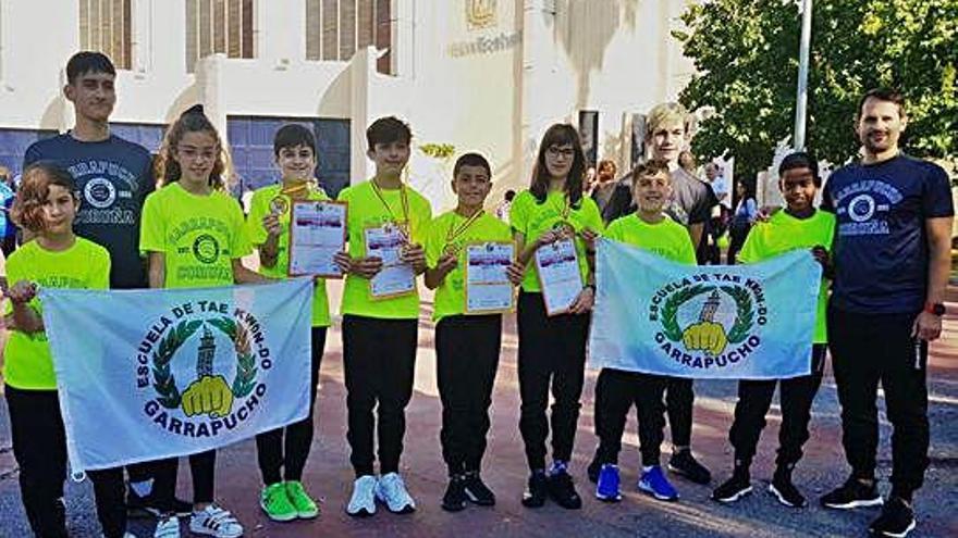 Lluvia de medallas para los coruñeses en el Nacional de clubes