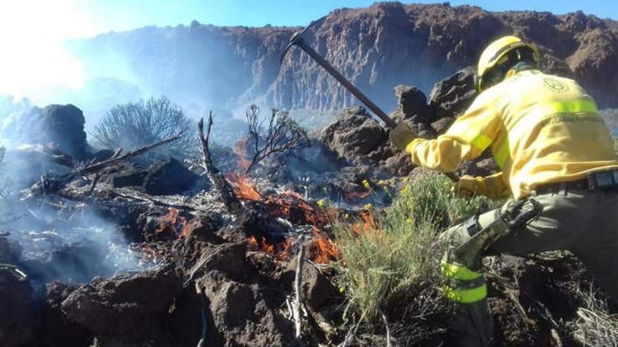 Finaliza la alerta por riesgo de incendios forestales en Canarias