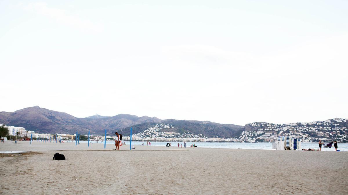 La platja de Santa Margarida en una imatge d'arxiu