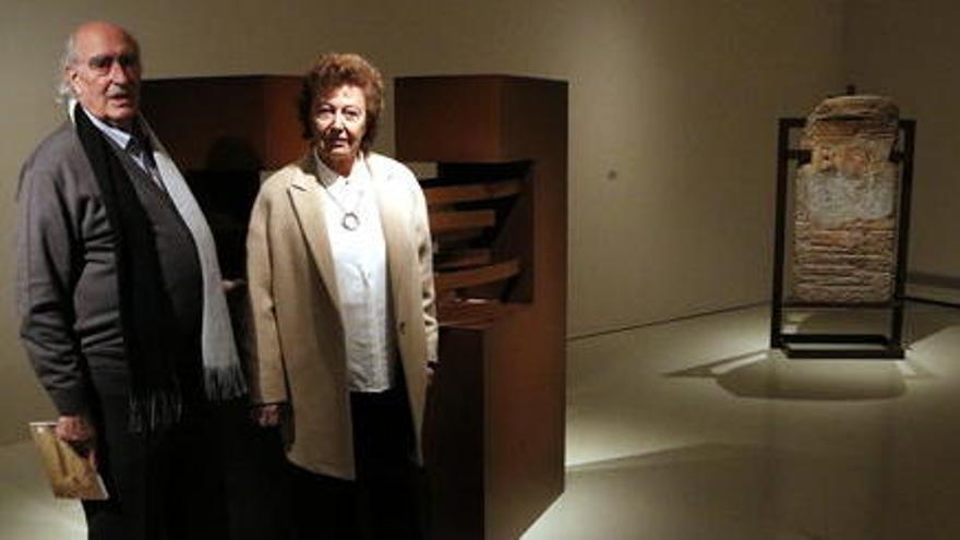 L'escultura d'avantguarda de l'artista bagenca Elisa Arimany s'exposa al Museu de Montserrat