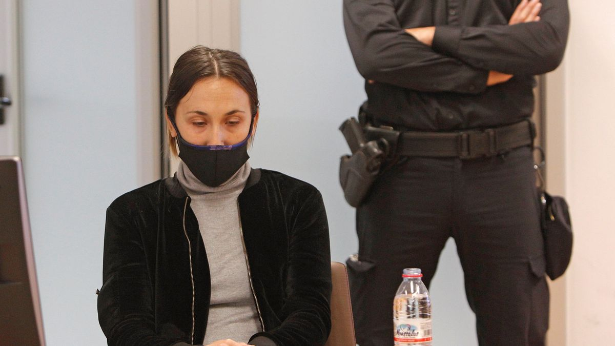 Alejandra G. P., acusada del crimen de Dominique.