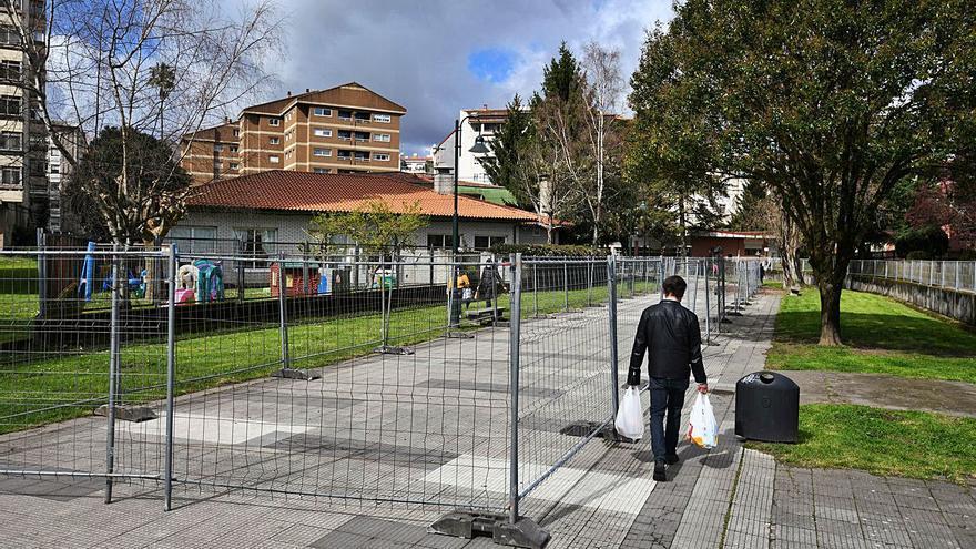 El PP pide levantar el paseo de Os Gafos sin hacer la obra de refuerzo provisional