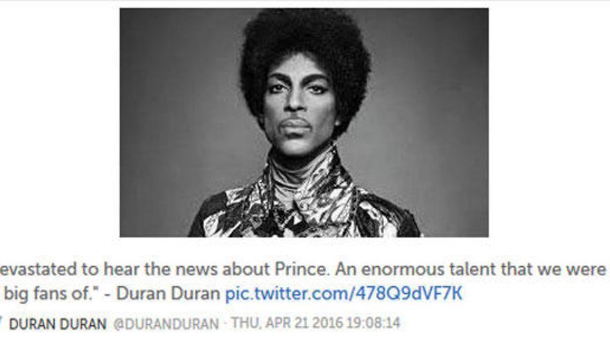 Las redes sociales lloran la pérdida de Prince