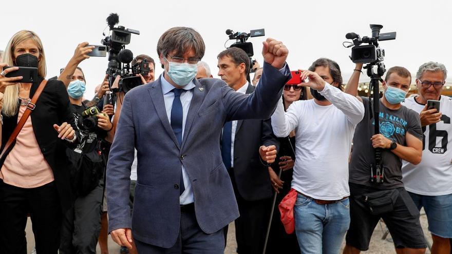 Puigdemont quiere esperar a que la justicia italiana se pronuncie sin interferencias del TJUE