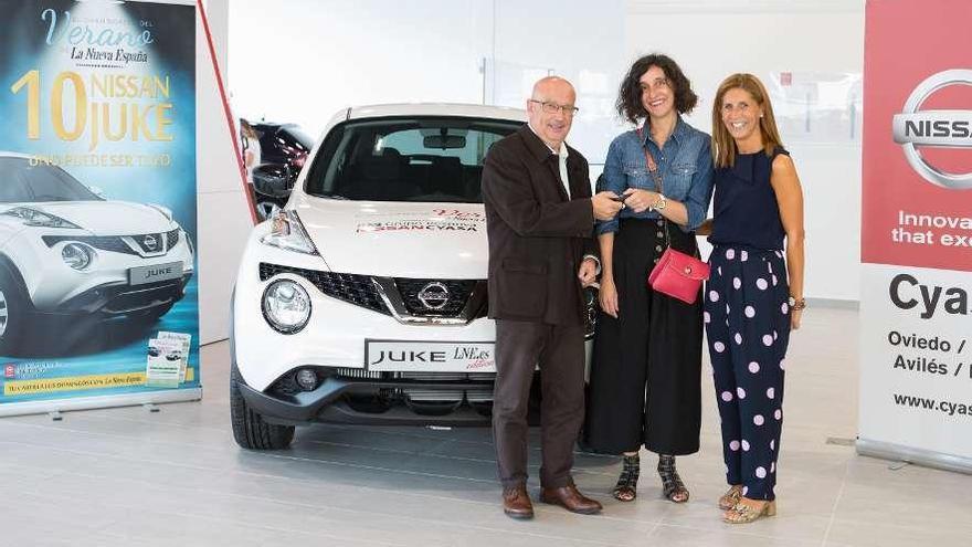 Doce manos al volante del Nissan Juke