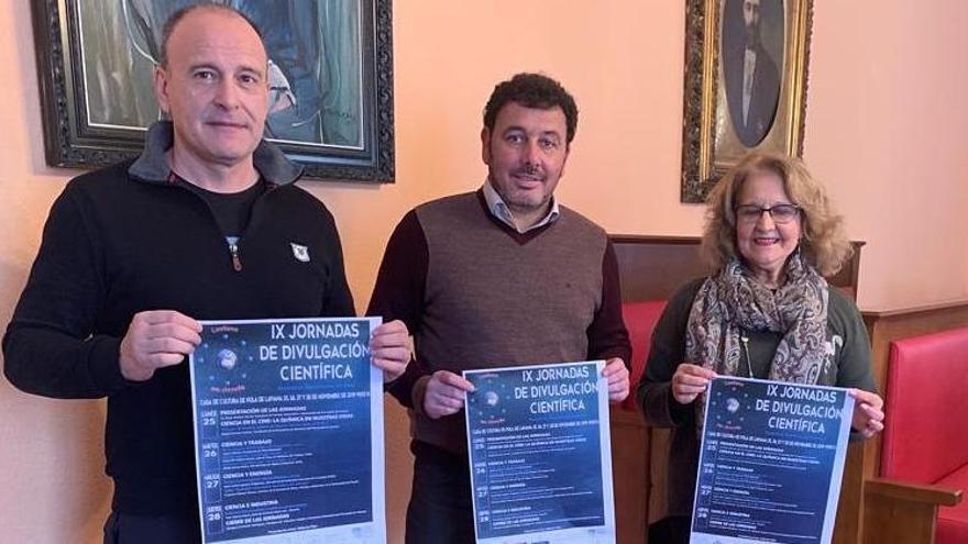 Laviana celebra desde el lunes sus IX Jornadas de Divulgación Científica