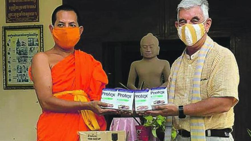 Tampoco el virus puede con Camboya