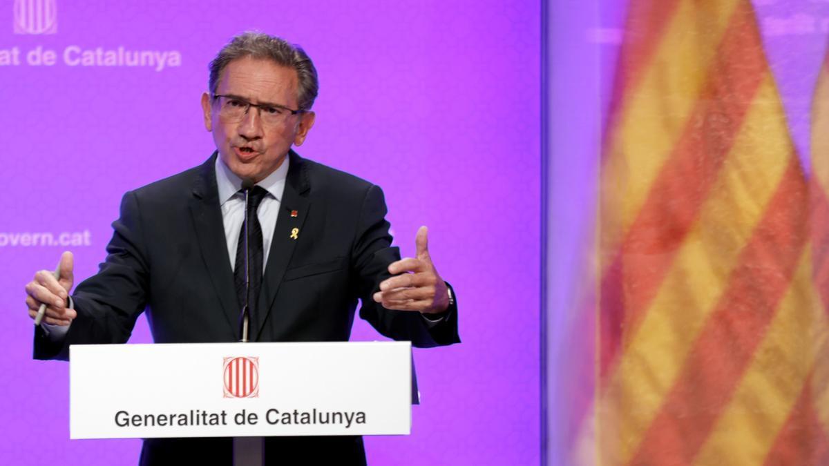 Jaume Giró, 'conseller' de Economía del Govern.