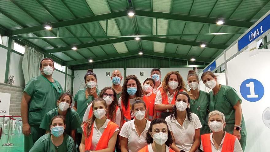 Salud clausura los grandes centros de vacunación de Inca y Manacor