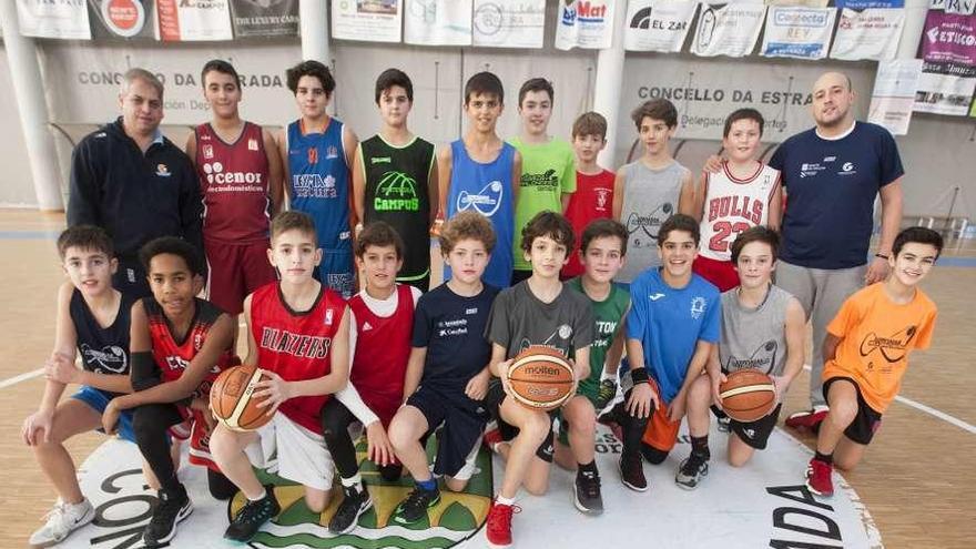 A Estrada, capital gallega del baloncesto de base