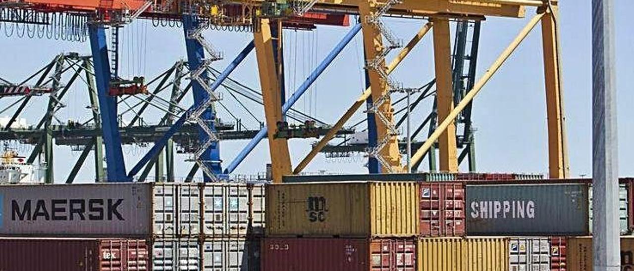 La exportación vuelve a tirar de la economía valenciana.