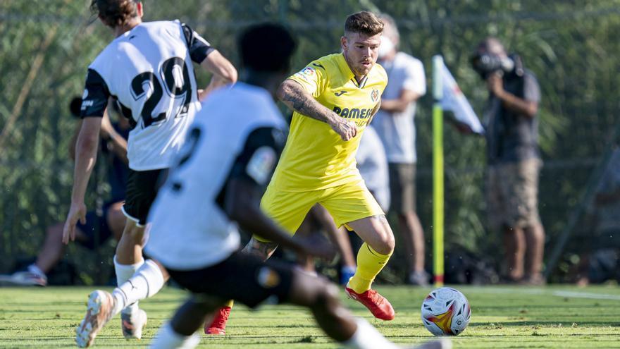 El Villarreal se duerme al final y pierde ante el Valencia en el primer amistoso de pretemporada (3-2)