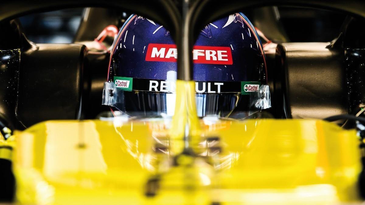 Alonso ya ejerce de piloto de Renault F1
