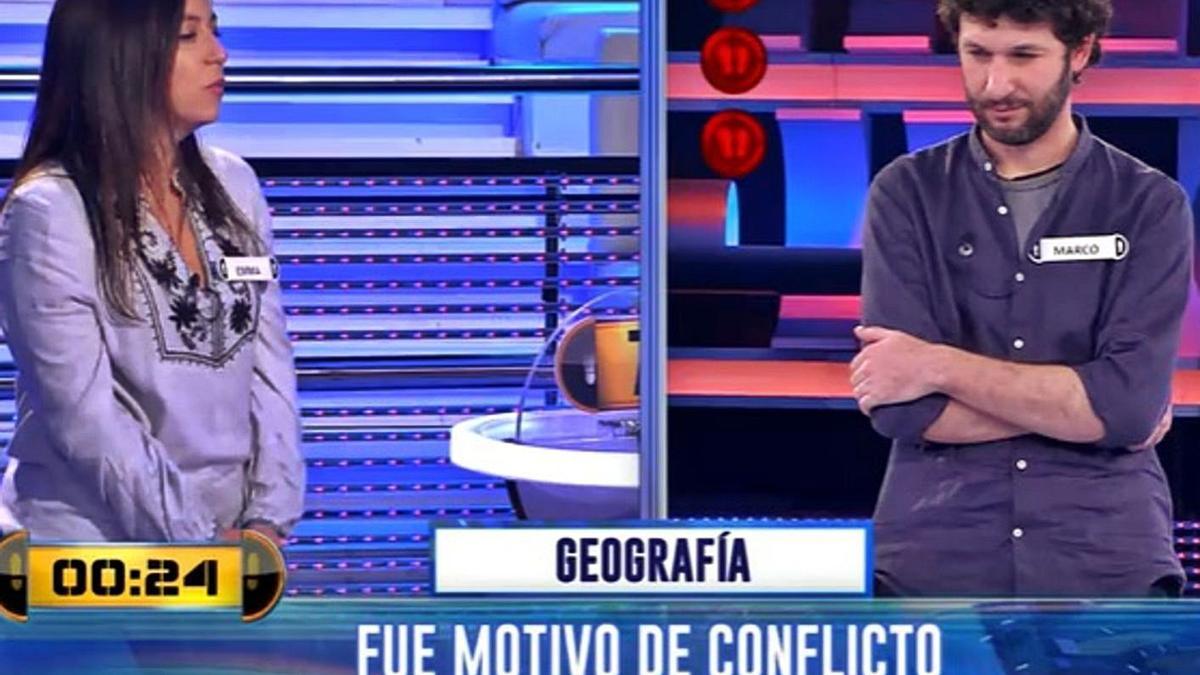 Un momento de la participación de Emma Torres en el concurso televisivo.  | // ANTENA 3