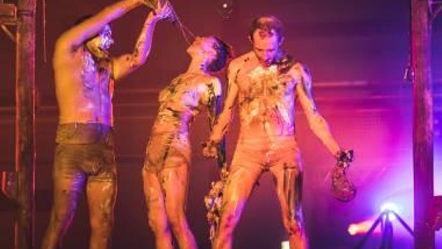 """La Fura dels Baus llevará  su espectáculo de los 90 """"Manes"""" a La Nau de Sagunt"""