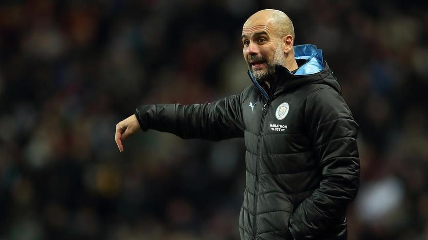 """Guardiola: """"Me sabe muy mal por Valverde, no se merece esto"""""""