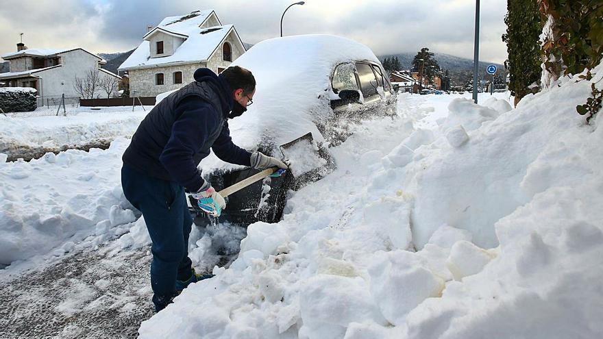 El Gobierno declara Castilla y León zona catastrófica tras el paso de Filomena