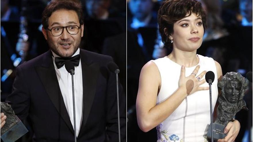 Carlos Santos y Anna Castillo, Mejor Actor y Actriz Revelación en los Premios Goya 2017