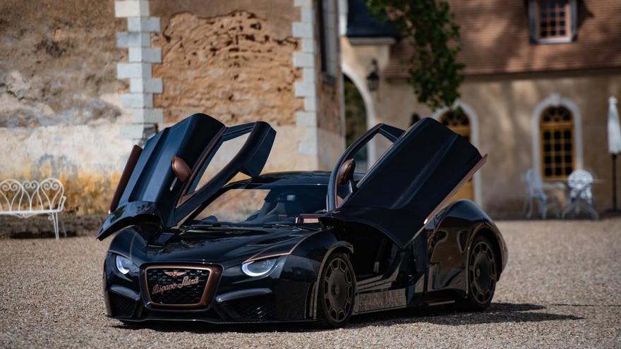 Hispano Suiza Carmen Boulogne, el eléctrico español que hace temblar a Ferrari, Lamborghini o McLaren