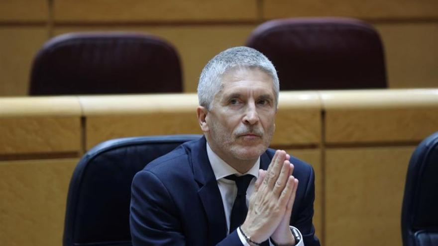 """El rapapolvo de un senador canario a Marlaska: """"Repita conmigo: Ar-gui-ne-guín"""""""