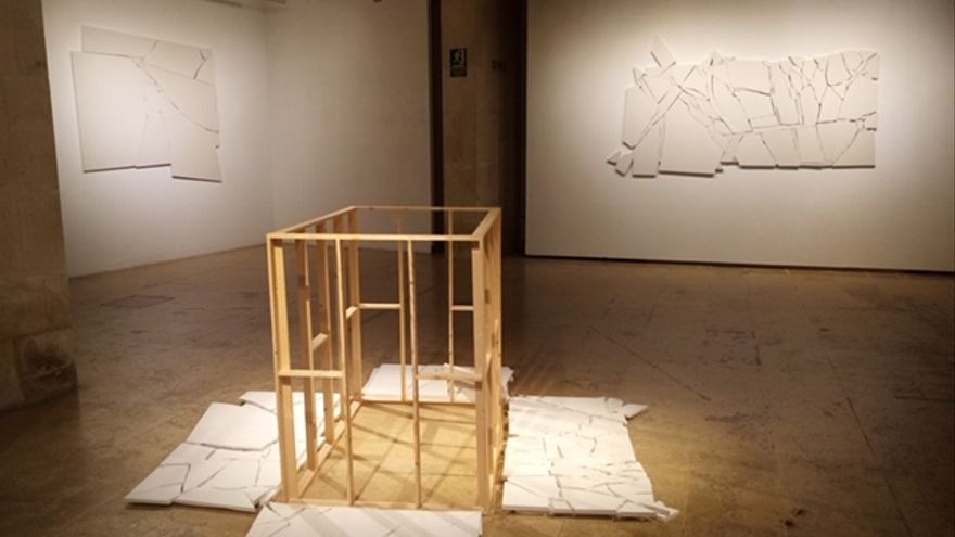 Carles Romany muestra su estética de la fractura en el Centro 14