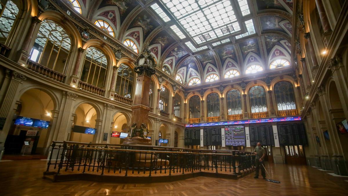 Imagen del Palacio de la Bolsa.