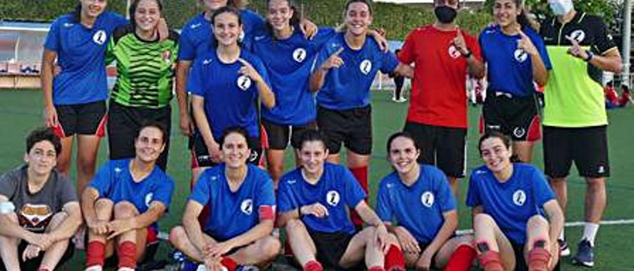 El CF Miramar en l'Eliana. | LEVANTE-EMV