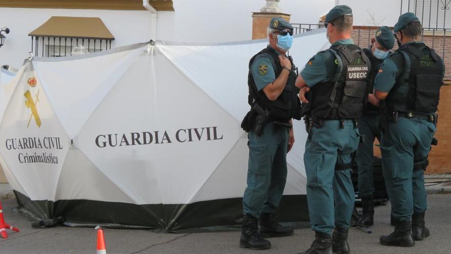 Cuarta visita del detenido por la muerte de Manuela Chavero a su domicilio