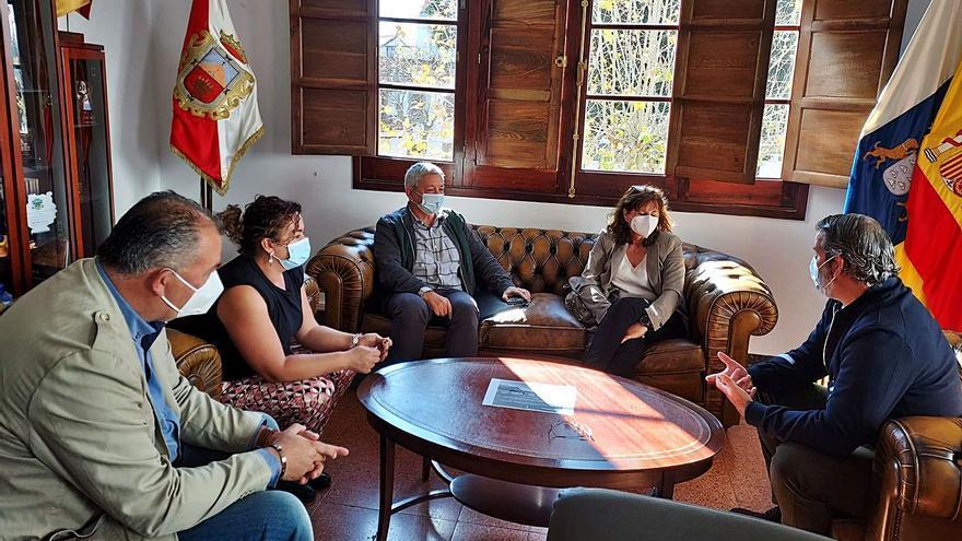 Firgas, Teror y Valleseco buscan apoyo para edificar casas sociales