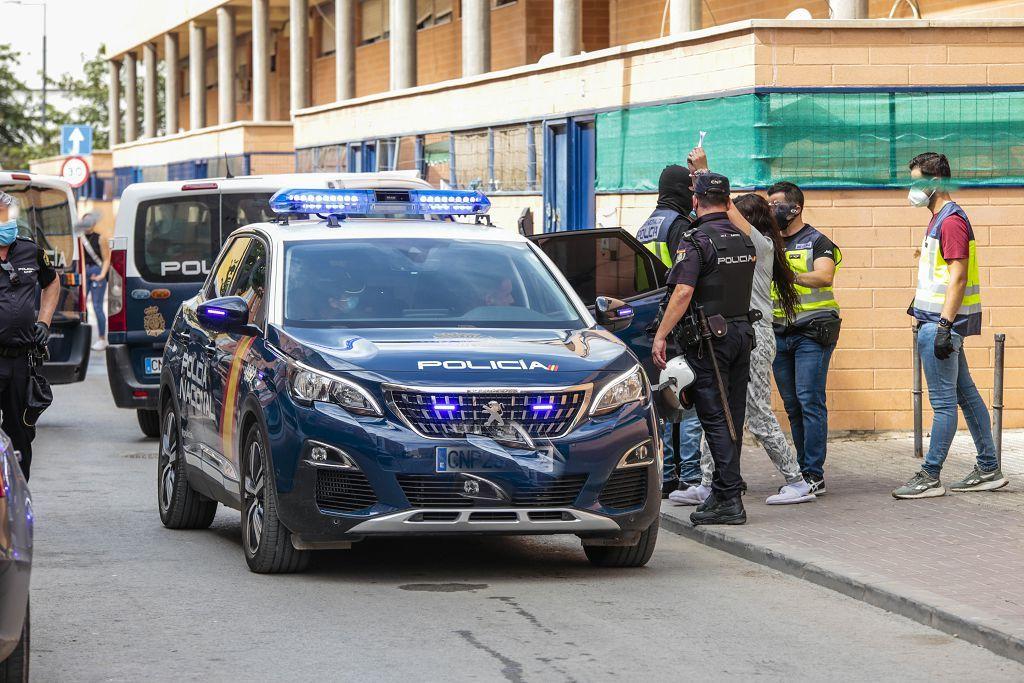 Intervención policial. Menudeo, gallos y tortugas en Ministriles, Lorca-3634.jpg