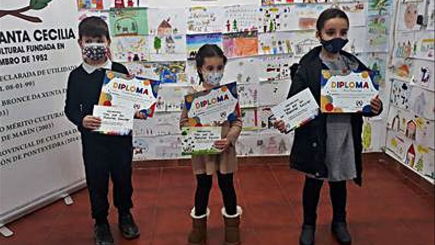 El Ateneo Santa Cecilia galardona 24 dibujos y relatos de niños y adolescentes