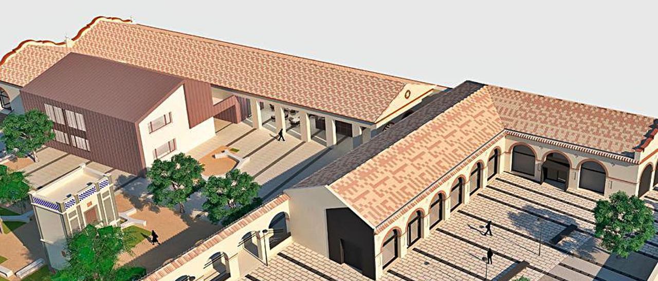 El museo del textil coge forma | SOLERTORRÓ ARQUITECTES