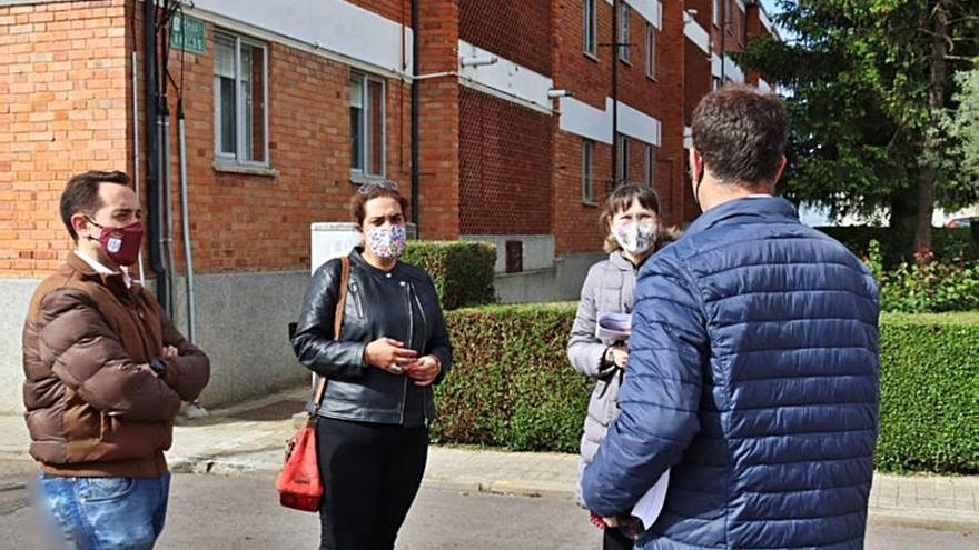 La reurbanización del barrio San Isidro en Benavente comienza el próximo mes