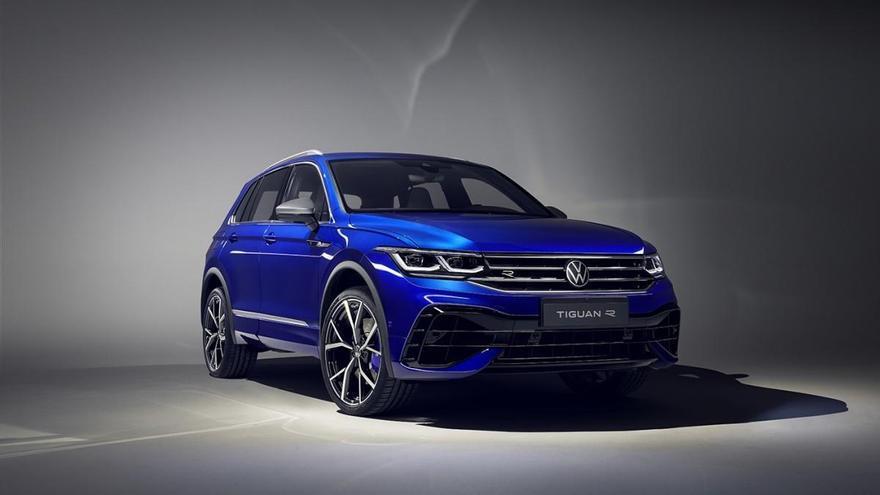 Volkswagen actualiza el Tiguan con una versión híbrida y una variante extrema 'R'