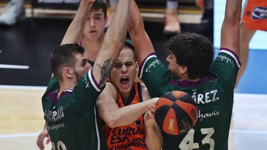 El Valencia Basket vuelve a las andadas