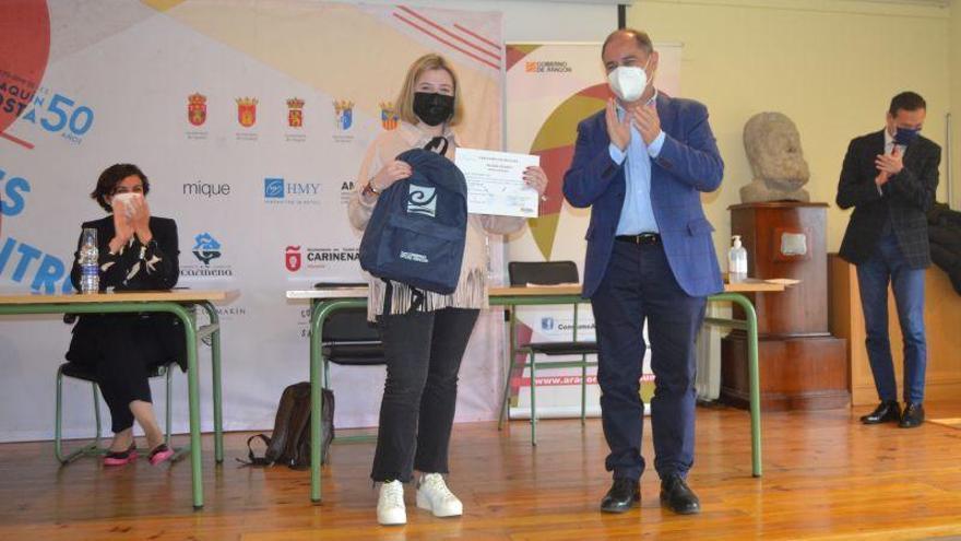 El IES Joaquín Costa de Cariñena triunfa en el III Certamen de relatos 'Igualdad y consumo responsable'