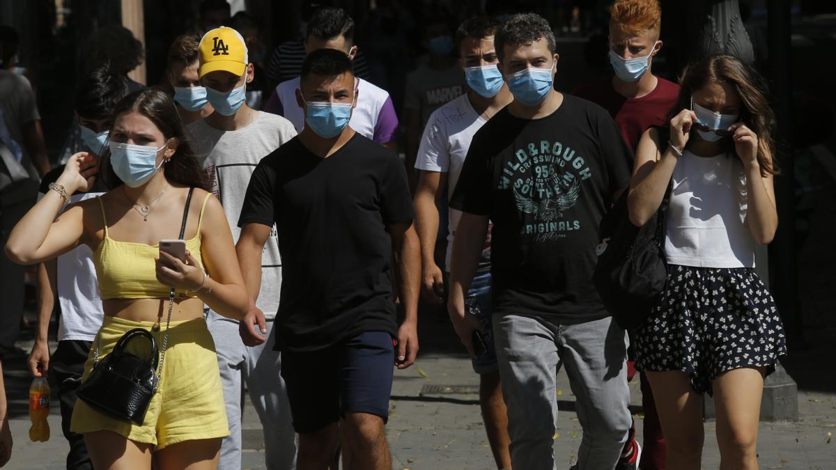 Casos de coronavirus registrados la última jornada en la C. Valenciana
