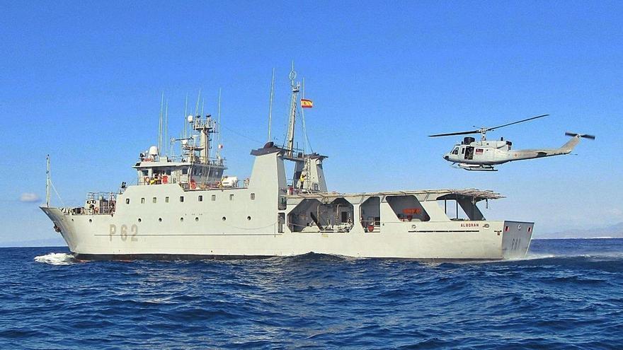 El patrullero Alborán pone rumbo a una nueva misión en el golfo de Cádiz
