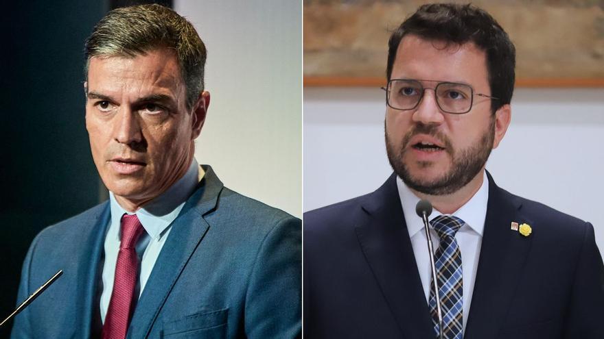 Sánchez y Aragonès inaugurarán la mesa de diálogo y se marcharán después para dejar trabajar a los equipos