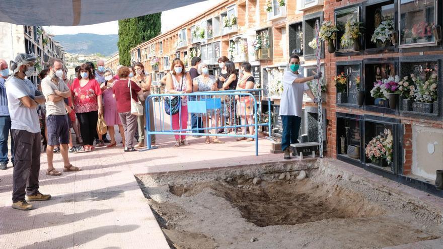 Inician en Monóvar los trabajos para recuperar los cuerpos de los represaliados por la dictadura franquista
