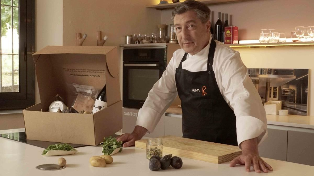El chef Joan Roca elige higos murcianos para el proyecto 'Gastronomía Sostenible'