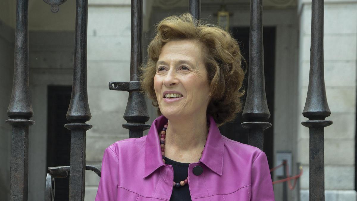 The writer Julia Navarro