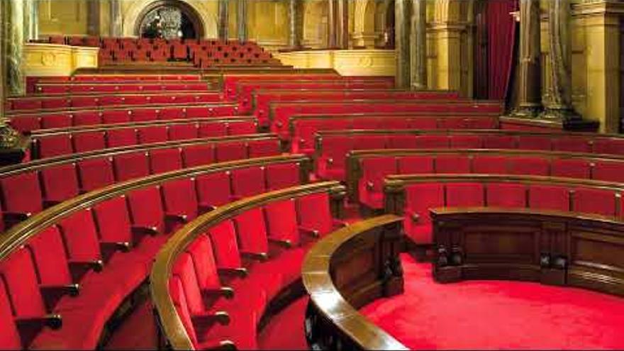 Sesión constitutiva de la XIII Legislatura del Parlament de Cataluña