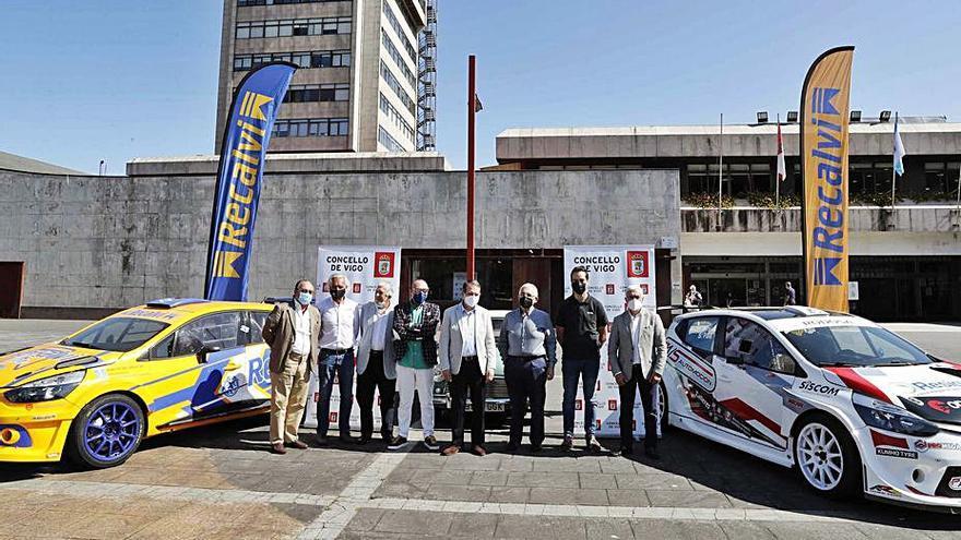 El Rally Rías Baixas enciende los motores