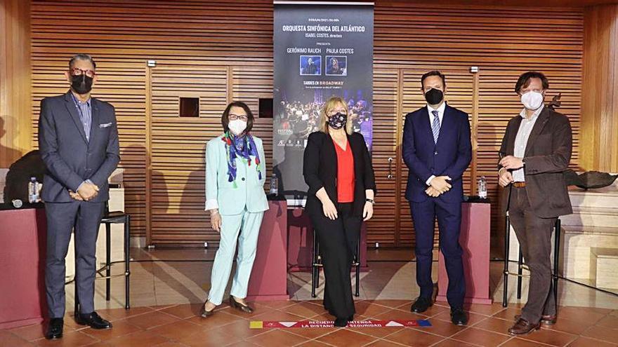 El Alfredo Kraus acoge un concierto para la Fundación Alejandro da Silva