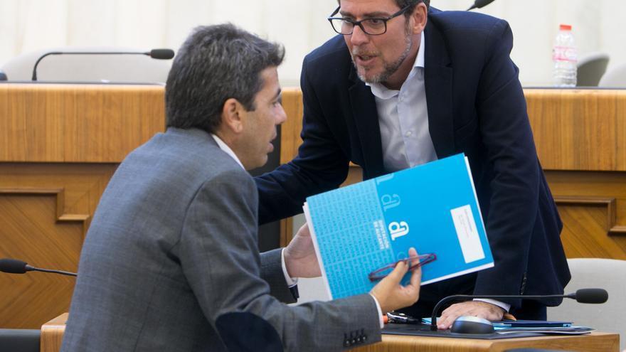 El PP apoya la moción de Cs para pedir la dimisión o el cese de Bernabé Cano en la Diputación