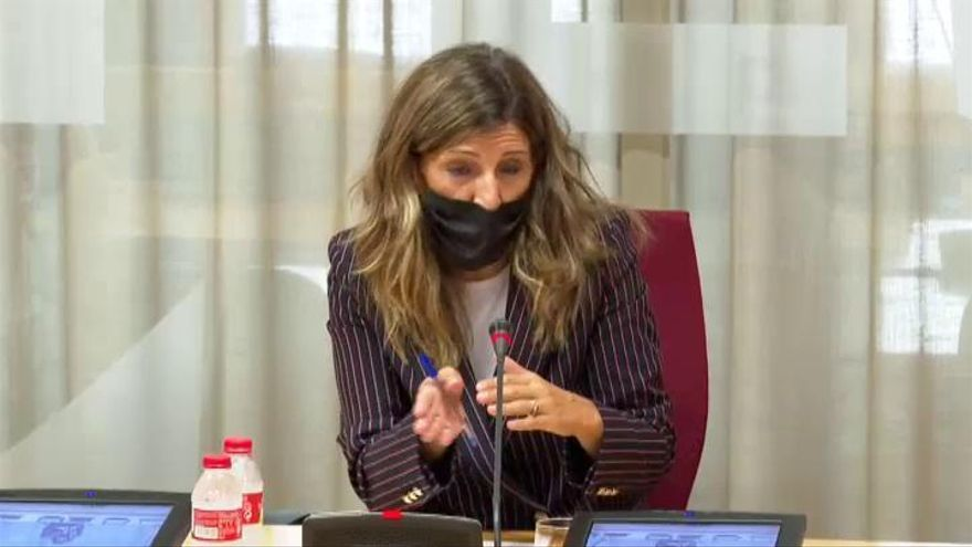 """Yolanda Díaz, sobre la prolongación de los ERTE: """"En breves días habrá acuerdo"""""""