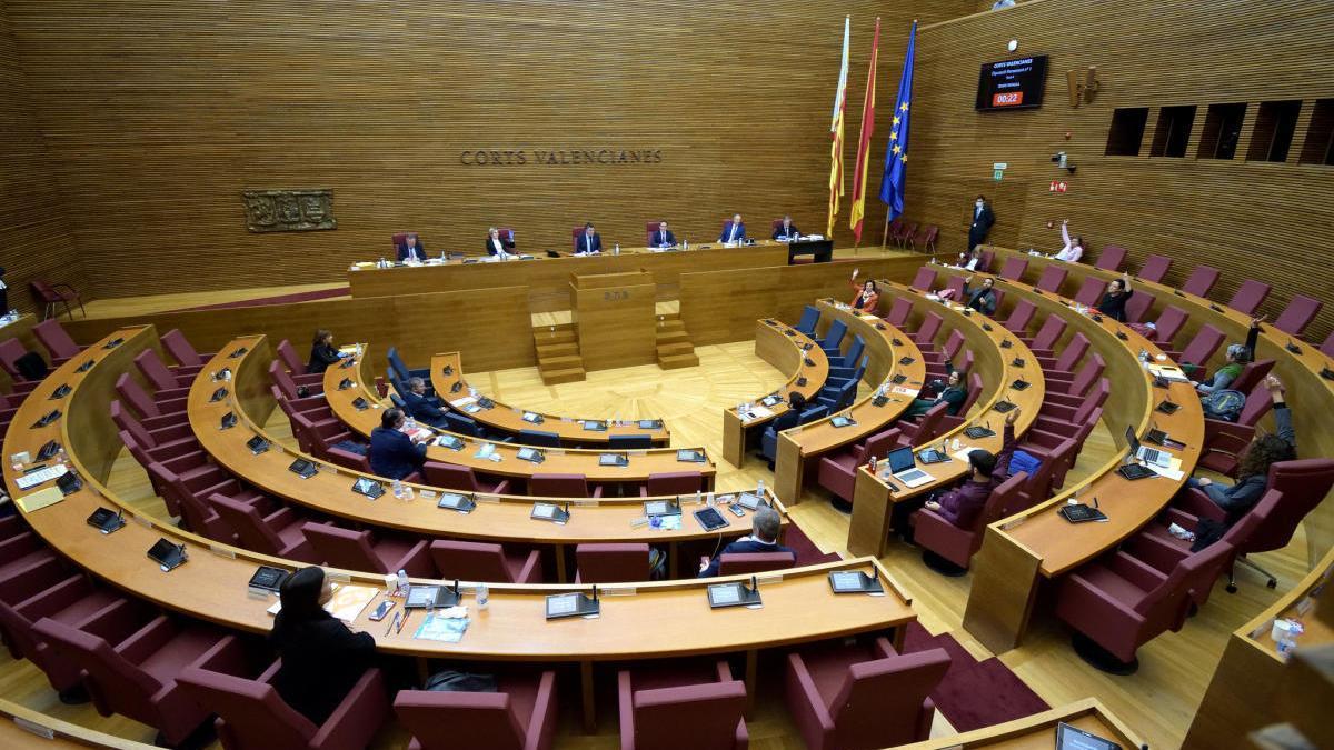 Última sesión de la Diputación Permanente de las Cortes.