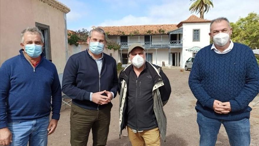 Benito Zambrano elige Firgas para rodar su nueva película