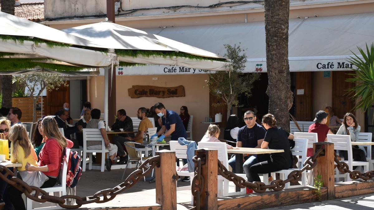 Ibiza abrirá las terrazas la próxima semana